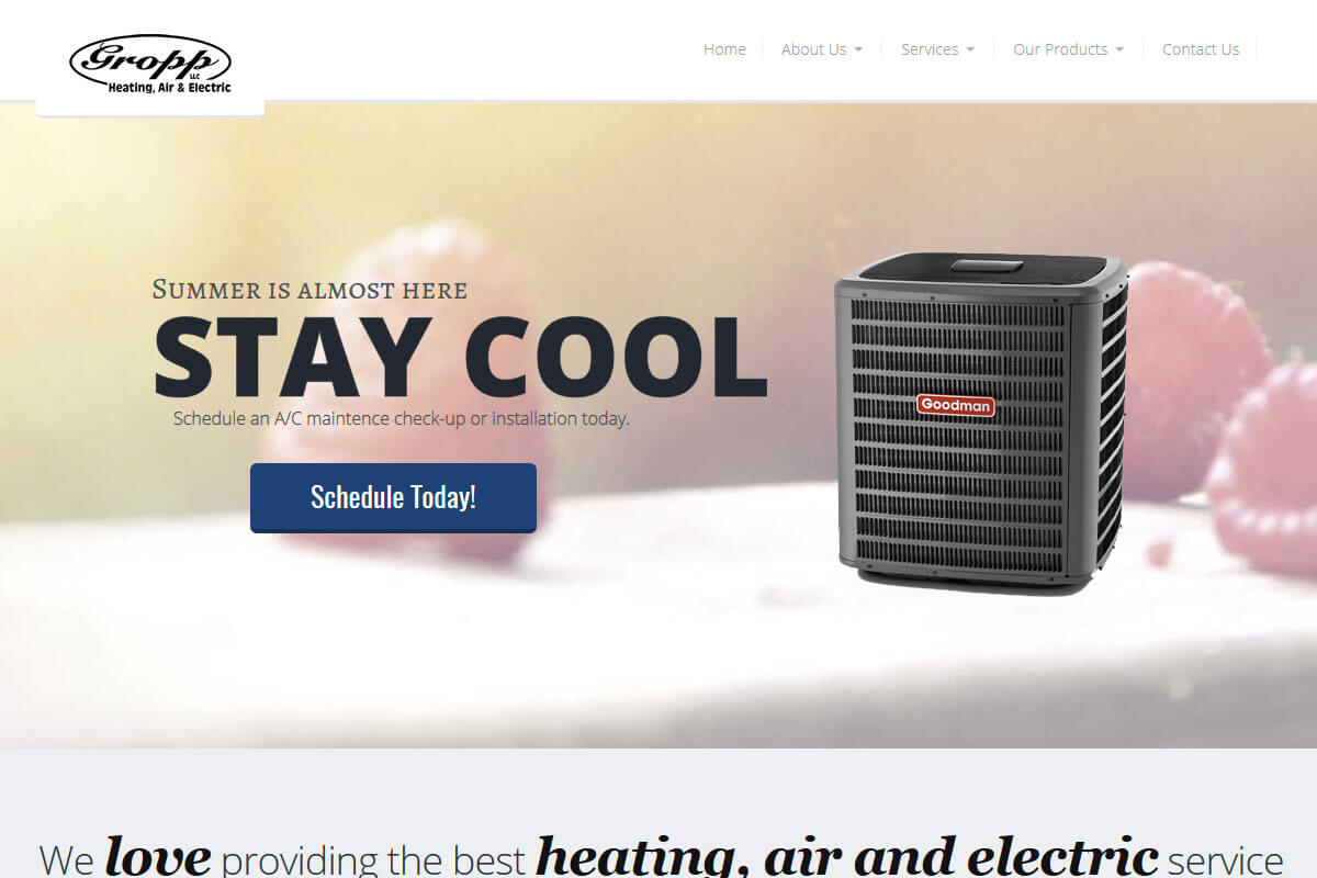Gropp Heating, Air & Electric